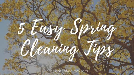 5 Easy Spring Cleaning Tips