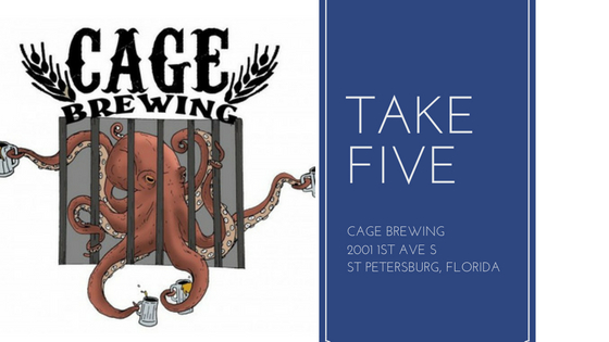 Take Five_ Cage Brewing St Petersburg, Florida
