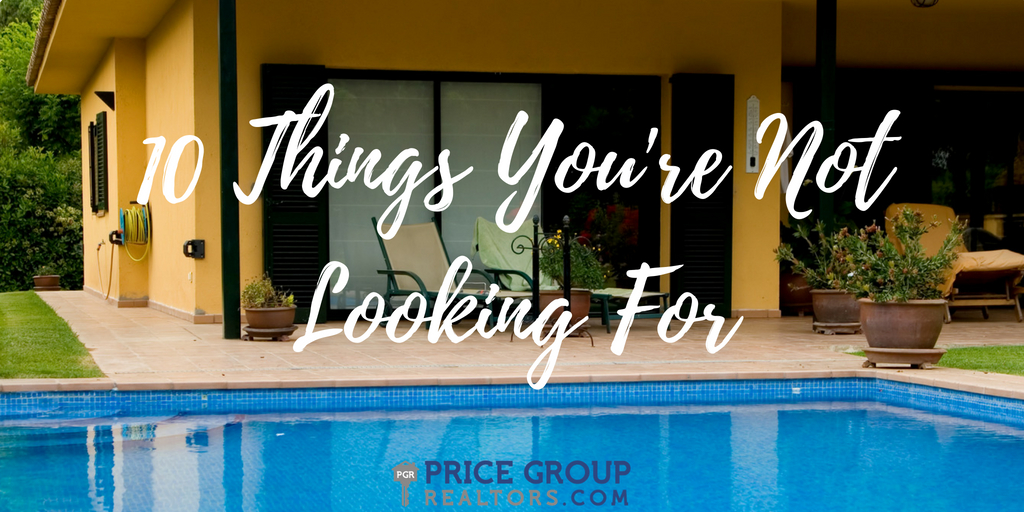 10 Things You're Not Looking For When House Hunting