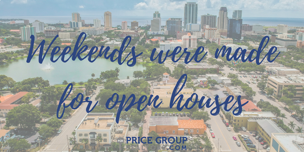 Open Houses in St Petersburg, Florida August 25th-26th